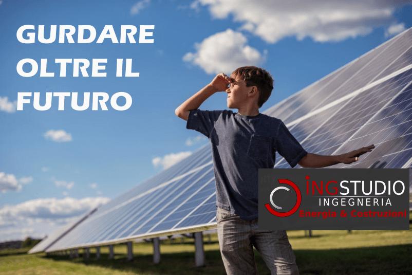 Fotovoltaico a - Guardare oltre il futuro- rid.